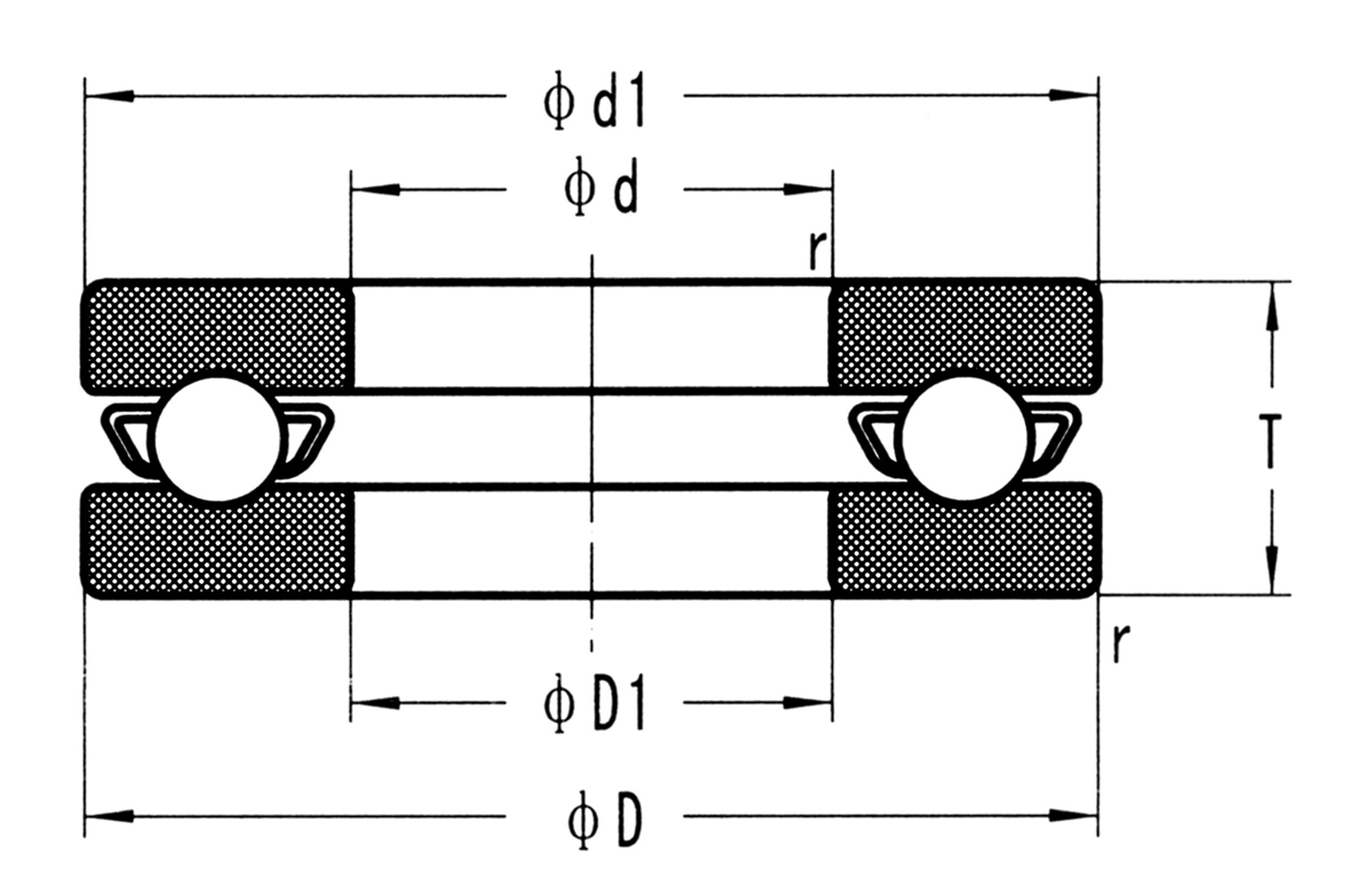 Stainless Steel Thrust Ball Bearings