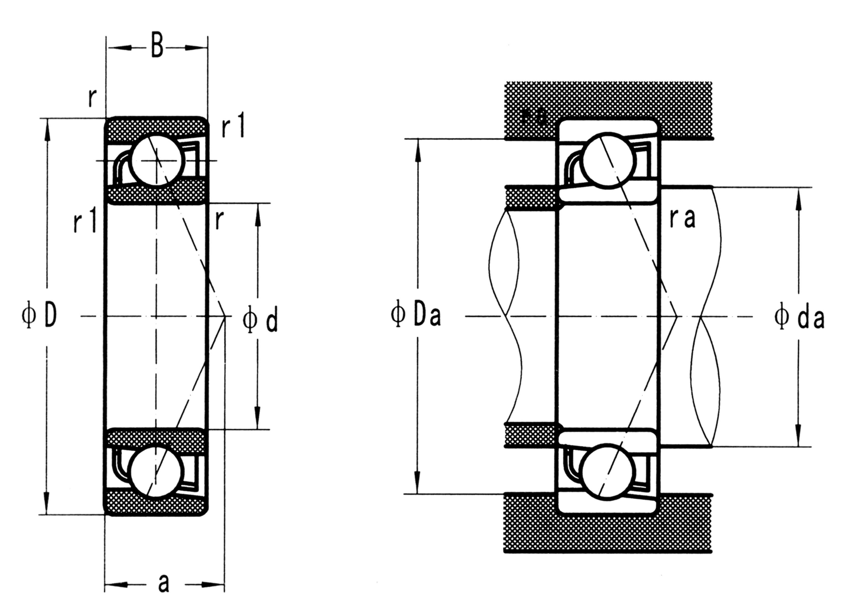 Stainless Steel Angular Contact Ball Bearings