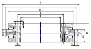 Cross roller bearing(RU Series)
